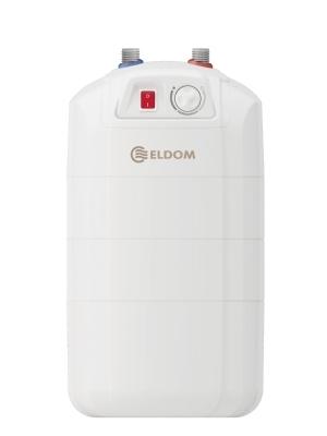 Compacte staande boiler met energieklasse B. Ideaal voor onder het aanrecht.